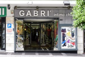 Gabrì chic abbigliamento intimo in via Tiburtina a Roma